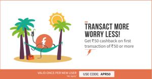 freecharge  cashback latest APR abhiyou offer