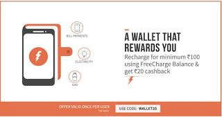 freecharge wallet  loot offer