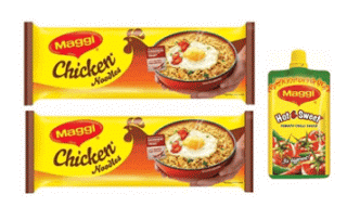 maggi chicken noodles hot sweet pichku