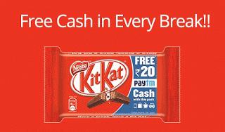 paytm KitKat free paytm cash rs