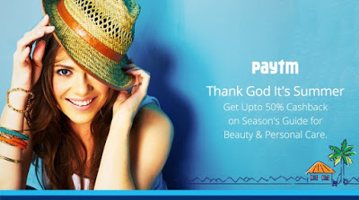paytm summer special deals offers upto  cashback