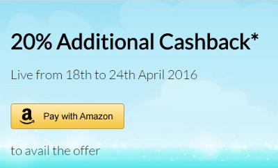 paywithamazon  cashback offer
