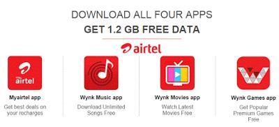 Airtel free data loot offer