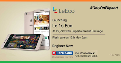 LeEco Les Eco Launch flipkart latest may