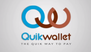 QuikWallet app refer and earnloot logo