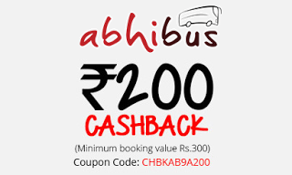 abhibus th anneversery rs cashback loot offer