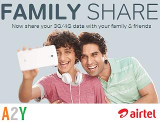 airtel family share