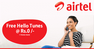 airtel free hello tunes service for  days