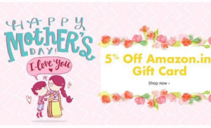 amazon mothers day special gift card  off
