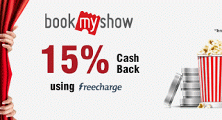 bookmyshow freecharge wallet offer