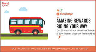 freecharge redbus loot offer