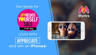 myntra appreciate yourself sale th th may