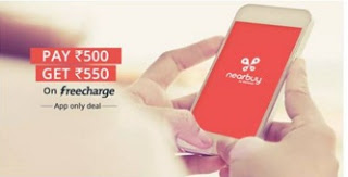 nearbuy Freecharge offer loot