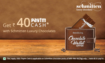 paytm Schmitten Offer upto rs paytm cash free