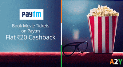 paytm get rs cashback on movie tickets
