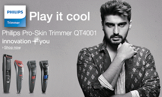 phillips trimmers men loot offer free voucher tata cliq