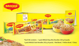 snapdeal maggi veg atta and oats noodles kit