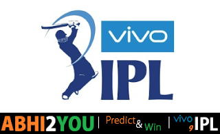 vivo ipl  predict and win contest