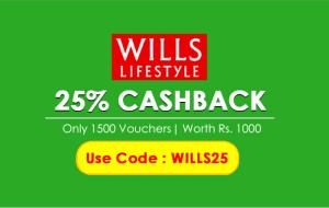 Crownit Wills lifestyle  cashback vouchers
