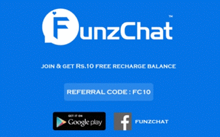 FunsChat app free recharge rs loot offer