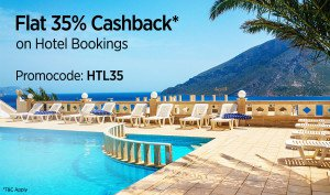 Paytm HTL  cashback on hotels