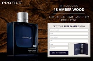 Profile  amber Wood Fragrance