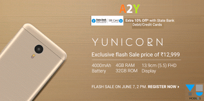 flipkart yunicorn flash sale rs only