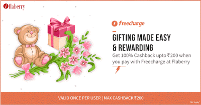 freecharge flaberry loot  cashback