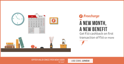 freecharge june get rs cashback on rs recharge or more
