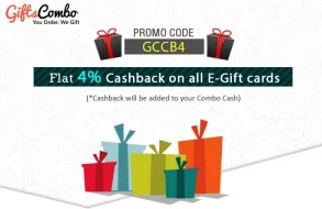 giftscombo  cashback on all giftcards