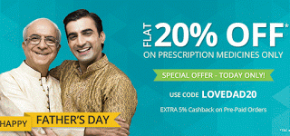 netmeds fathers day loot offer