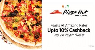 pizzahut offline store  paytm cashback