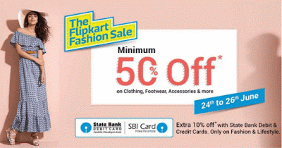 the flipkart fashion sale loot offer