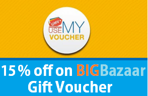 usemyvoucher big bazaar gift cards