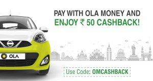 Ola Cabs Get flat Rs  cashback on rides mumbai