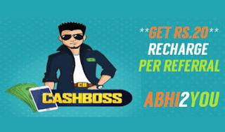 cashboss referral loot offer