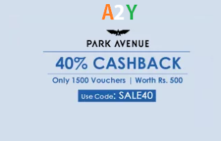 crownit park avenue sale  cashback