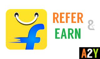 flipkart refer and earn