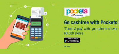 icici pockets free cashback offer deal