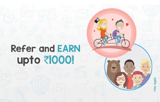 mobikwik refer and earn rs