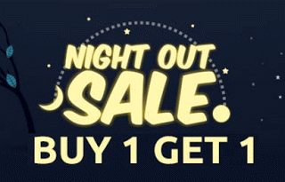 shopclues night out sale loot buy  get
