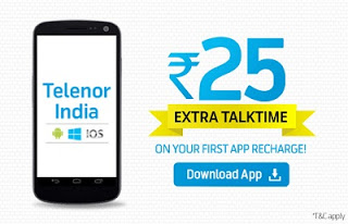telenor extra talktime rs free