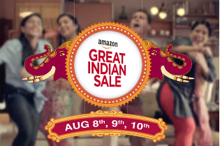 amazon great indian sale august