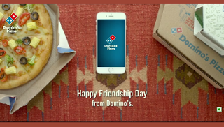 dominos pizza friendship day loot