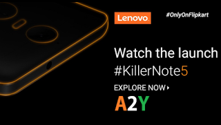 flipkart lenovo vibe k note launch