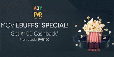 pvr cinemas paytm rs cashback loot offer