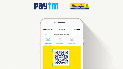 paytm bharat gas pay online