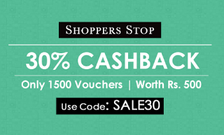 crownit shoppersstop  cashback vouchers