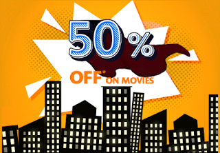 bookmyshow  off on movies