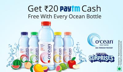 paytm cash ocean water